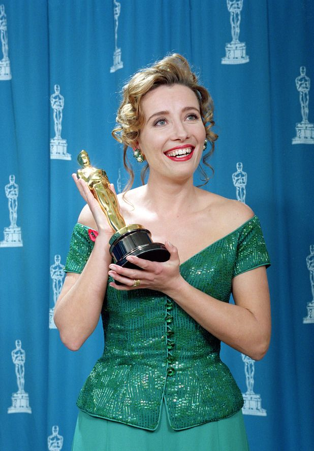"Emma Thompson - Best Actress Oscar for ""Howard's End"" (1992)"