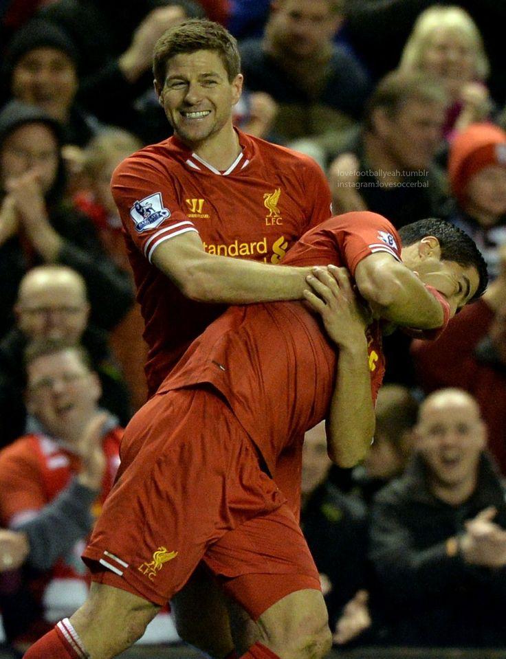 Luis Suarez - steven gerrard
