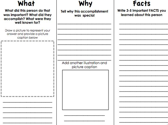 informational pamphlet template