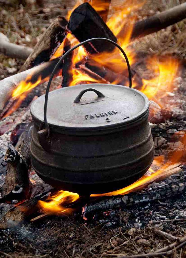 "A Potjie pot is a big part of South African cooking. It is a big clay pot (similar to a dutch oven) used by many to create stew-like dishes containing meats and vegetables called Potjiekos (""small pot food""). Every South African with a Potjie has their own special way of cooking their Potjiekos; there are even festivals to award the best!"