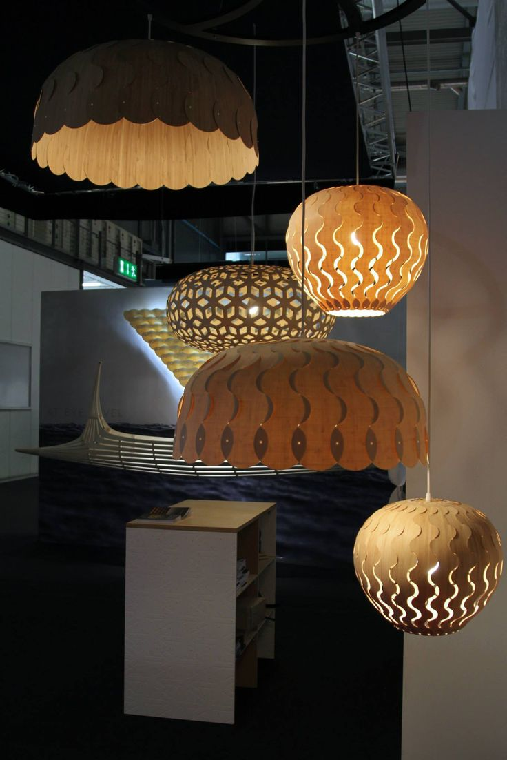 David Trubridge #lighting with new designs, BELLE & BEAU and newly redesigned as a kitset, SNOWFLAKE