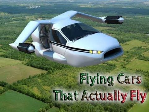 Flying Cars - 5  Real Flying Cars  That Actually Fly
