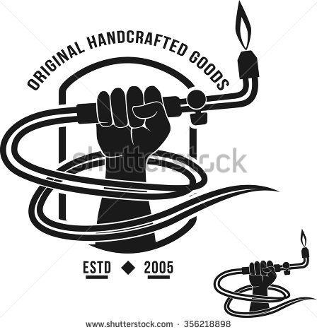 stock-vector-veltor-logo-handcrafted-goods-welding-torch-welder-356218898.jpg (448×470)