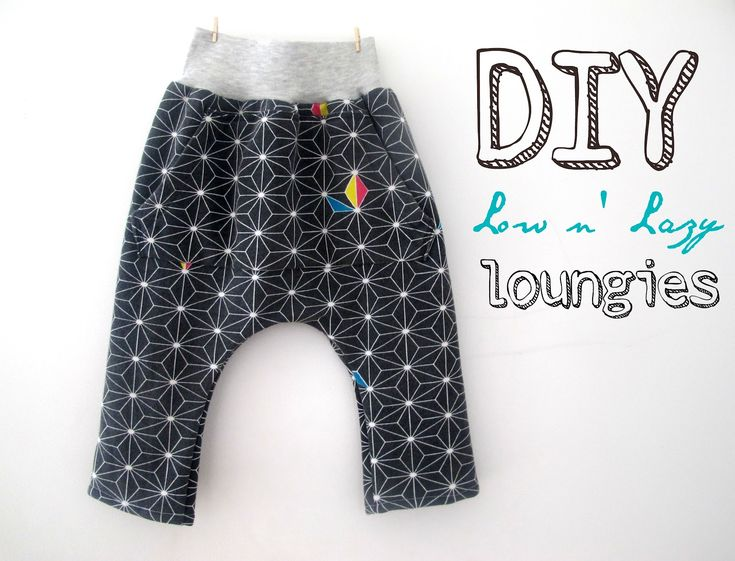 sophie from cirque du bebe. Tutorial lazy lounge pants