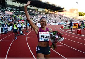 <3 6/12/14 #YaY! 3-Time World Champion & 2012 Olympic 200m Gold Medalist, Allyson Felix, victorious in debut in the 200m at the ExxonMobil Bislett Games on Wed evening!! 22.73s!! Allyson brings home Gold for the U.S.A., beating GB's Jodie Williams, who took 2nd place at the. The 5th stage of the 2014 IAAF Diamond League arrived in Oslo for the prestigious athletic event.   In mild, dry conditions, the Norwegian capital played host to a plethora of world-class athletes inside the Bislett…