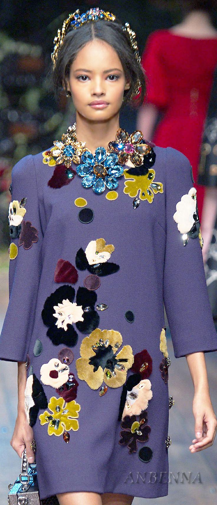 D&G fw14 Repinned by www.fashion.net