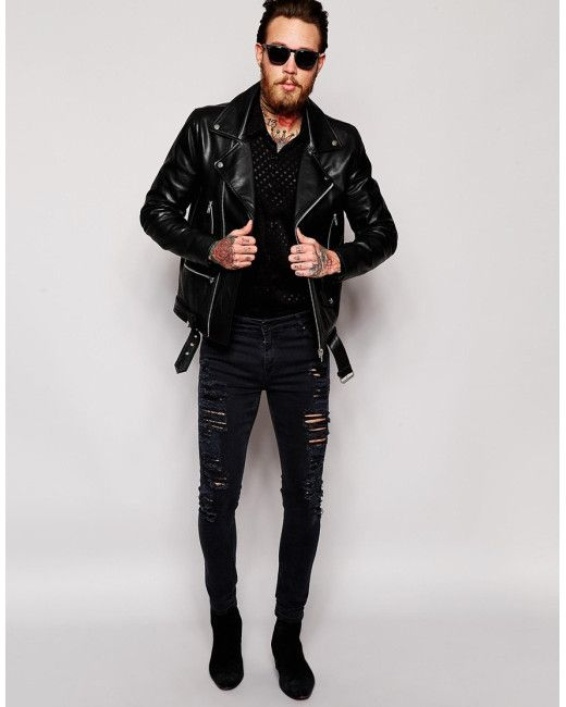 Image result for biker jacket