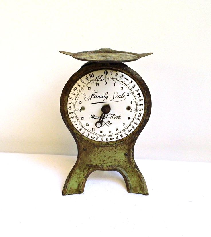 Vintage Antique Kitchen Scale Rustic Market Cast Iron Cooking Balance Weights Green Metal Industrial Rusty Kitchen Shabby Cottage Chic Décor by WoodHistory on Etsy