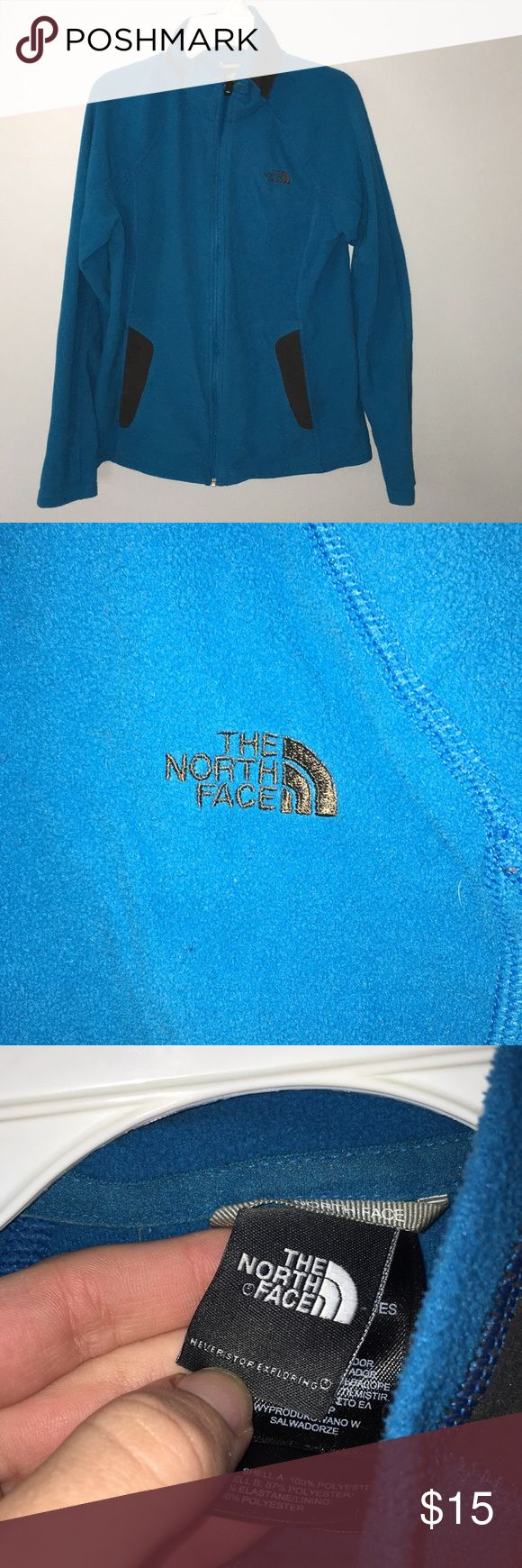 North face jacket Very pretty blue north face jacket, no signs of wear or tear!! North Face Jackets & Coats