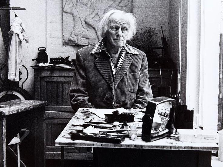 """Karin Székessy (b. 1938), 'Paul Delvaux ', Signed, 1985, mis en vente lors de la vente """"Nouveaux Départs - Art des années 1980-2000"""" à Auctionata AG   Auction.fr"""