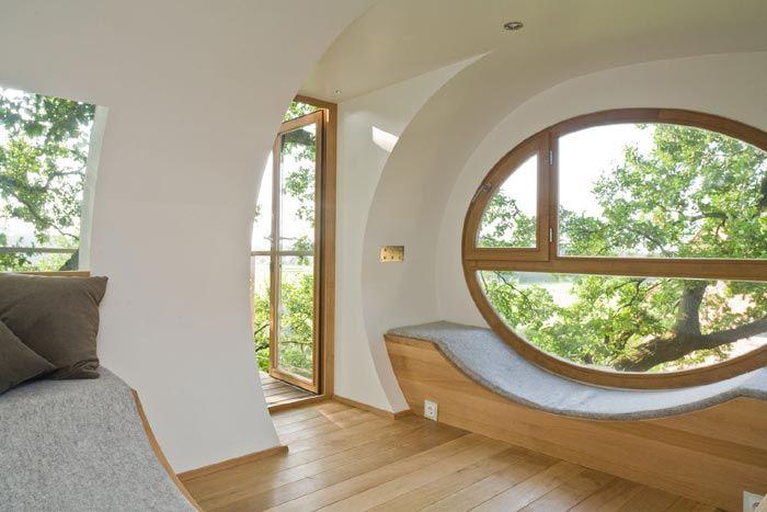 Interior of Treehouse Djuren