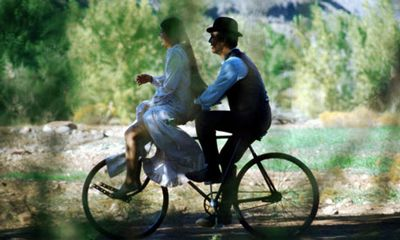 butch cassidy bicycle scene: