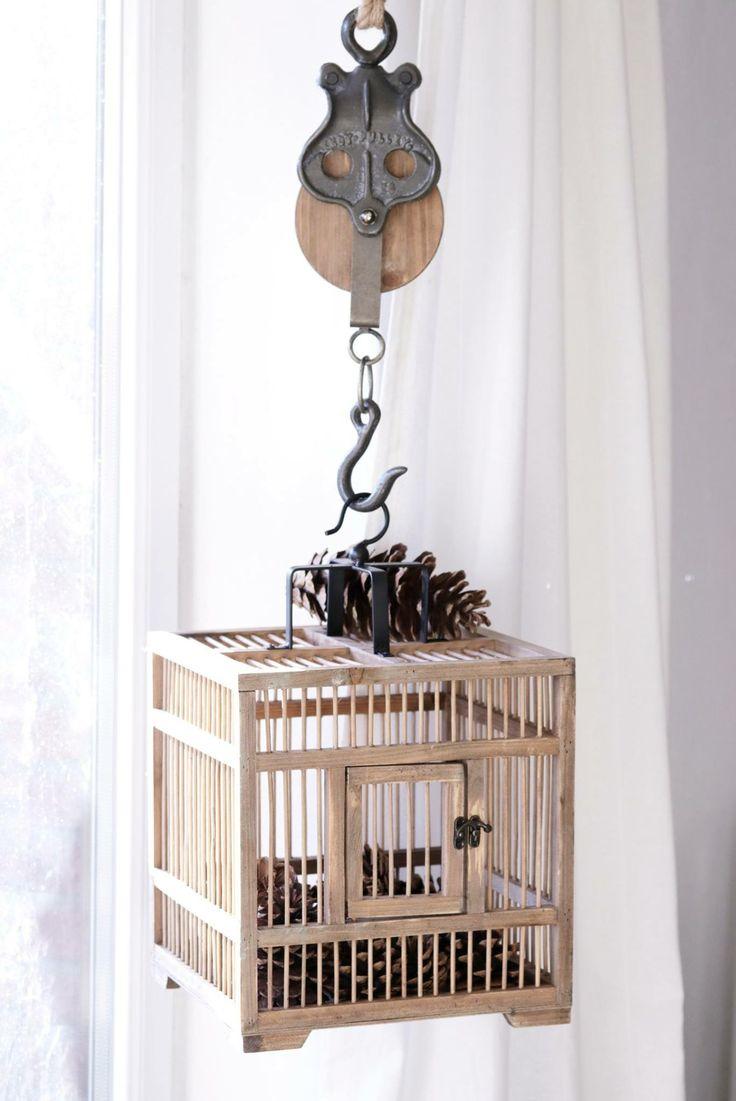 Ib Laursen Vogelkäfig, Deko zum hängen, Fensterdeko