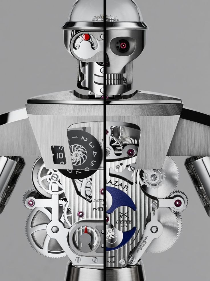 Balthazar: The Duality of Man and Machine - MB&F + L'Epée 1839