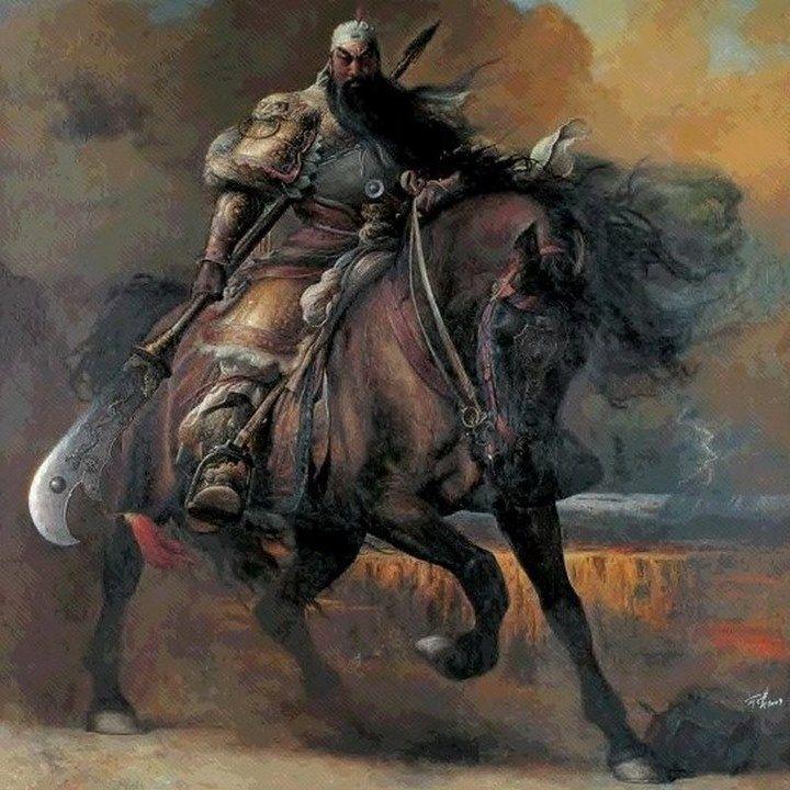 3 kingdom- Guan Yu