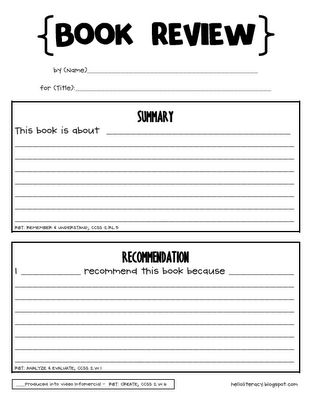 71 best READER RESPONSE SHEETS images on Pinterest Teaching - printable book report forms