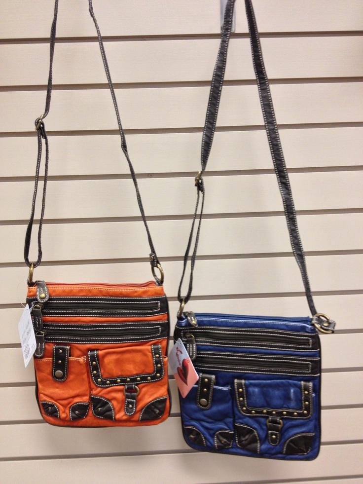 New Spring handbags at Carl's Footwear in Sheldon, IA!