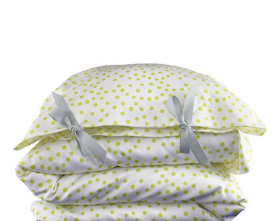 ORGANIC Toddler Bedding set  Scattered dots  by ColetteBream, $139.00