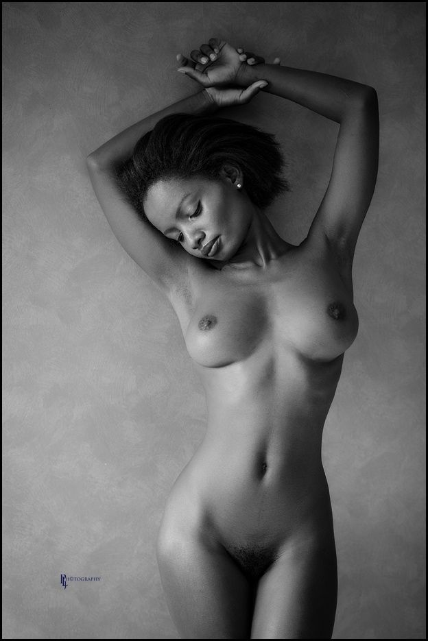 fine ebony art nude