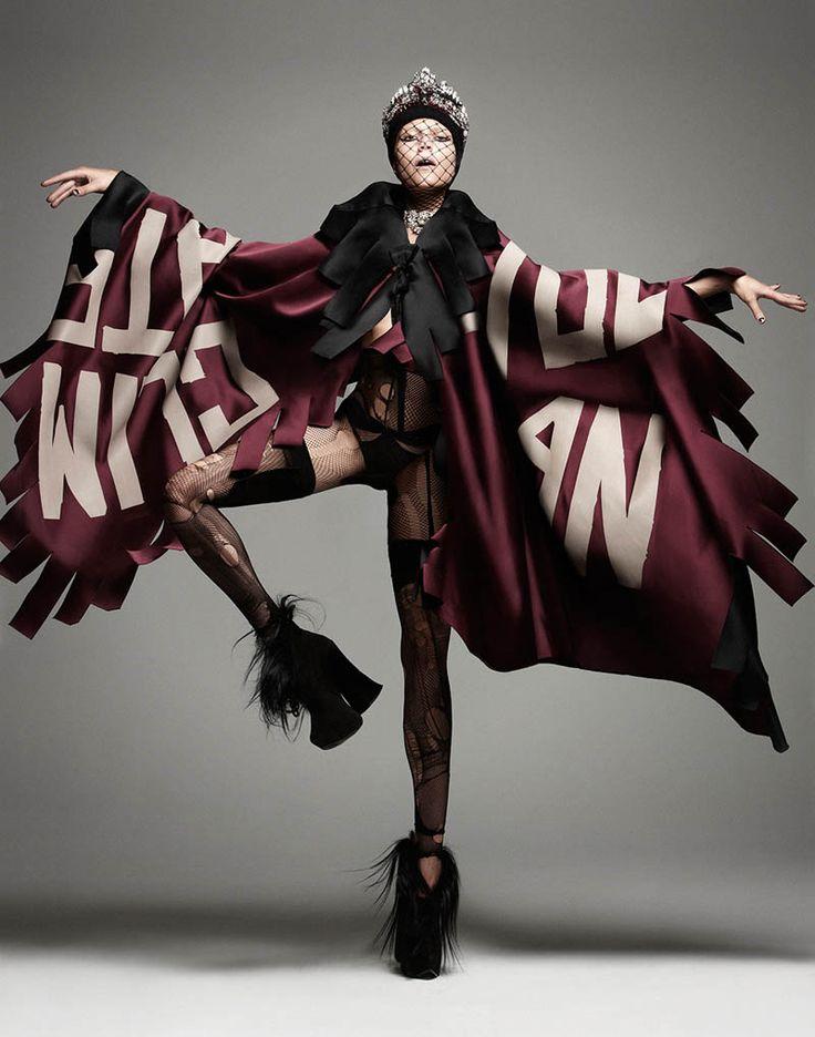 manolo campion punk5 Martha Streck Has Punk Attitude for V Magazine Shoot by Manolo Campion