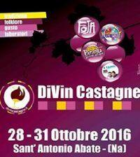 Dal 28 al 31 ottobre il centro di S. Antonio Abate sarà trasformato in un grande ristorante all'aperto in occasione della sesta edizione di Divin Castagne. Un evento da non perdere. #eventi #Napoli