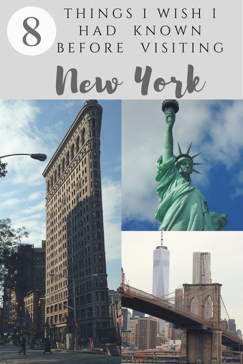 New York: 8 Things I WISH I had known before visiting