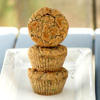 Zucchini Banana Muffins by Southern In Law