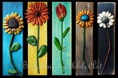 Questi fiori sono stati venduti, posso ripetere i miei soggetti pur mantenendo l'originalità del pezzo. Su richiesta realizzo fiori di ogni dimensione e...