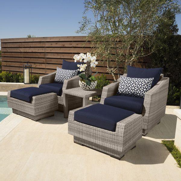 5 Piece Catalina Patio Seating Group | Joss U0026 Main Part 72