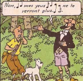 Leçon de chant avec le professeur Siclone