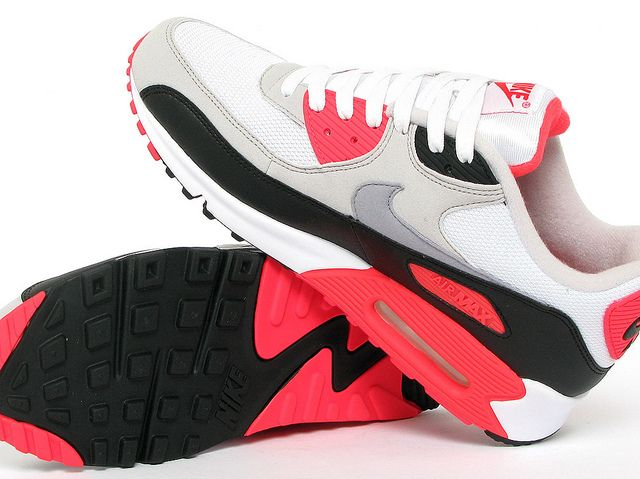 "Nike Air Max 90 ""Infrared"" by SHELFLIFE STORE, via Flickr"