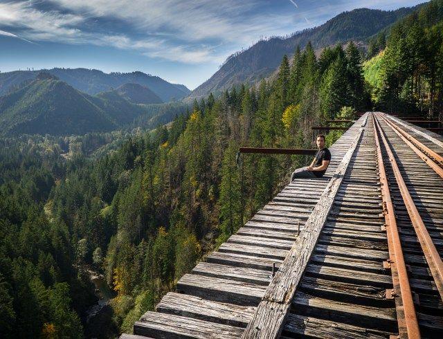 how to get to vance creek bridge.