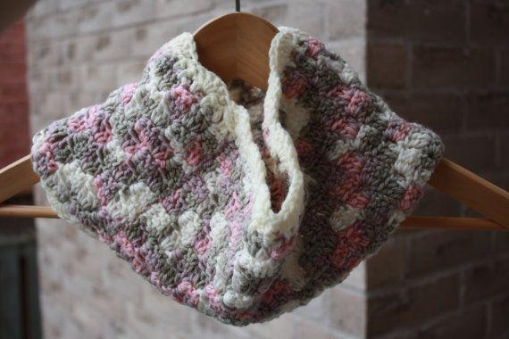 Ready to ship Crochet CowlCrochet Scarf Crochet by KetisCrochet