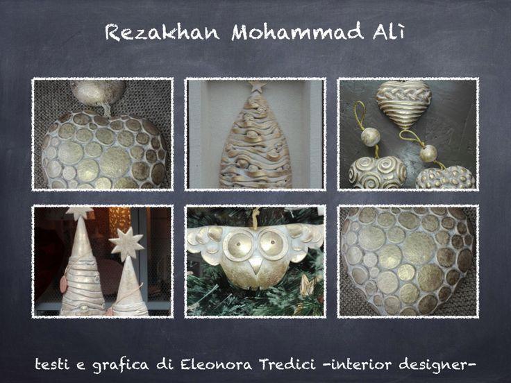 Artigianato artistico per la vostra casa e come idea regalo per il Natale!