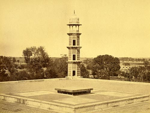 Jehangir's tomb in the Shadra Gardens, Lahore