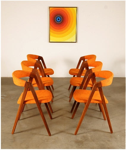 Teak Danish Modern Chairs