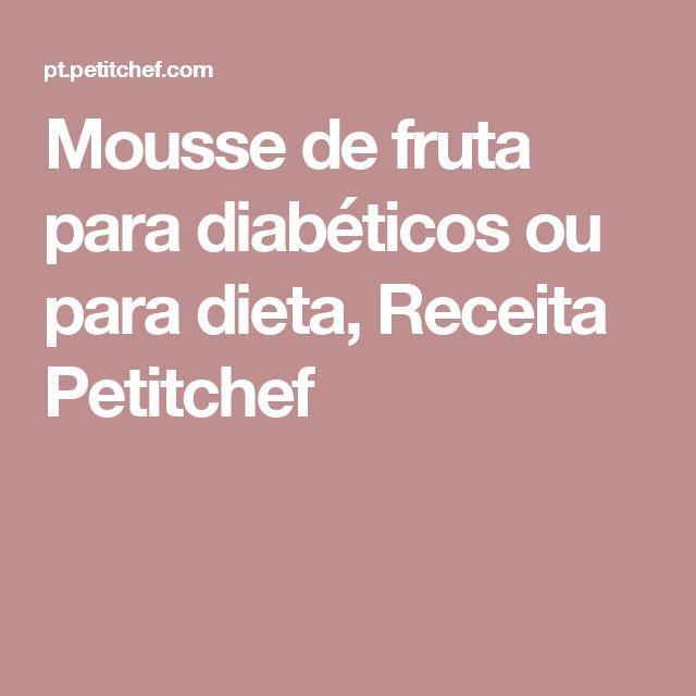 +1000 ideias sobre Receitas Para Diabéticos no Pinterest
