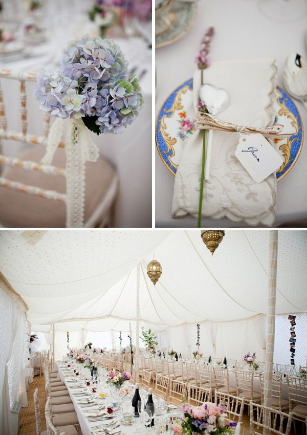 An amazing vintage English country garden theme. Sigh...!