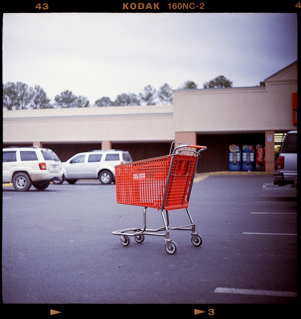 Parking Lots >> Stray shopping carts = lethal weapons in parking lots (by Ben - benandcolleen.us, via Flickr ...