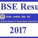 CBSE Exam Result 2017 of 10th and 12th Class