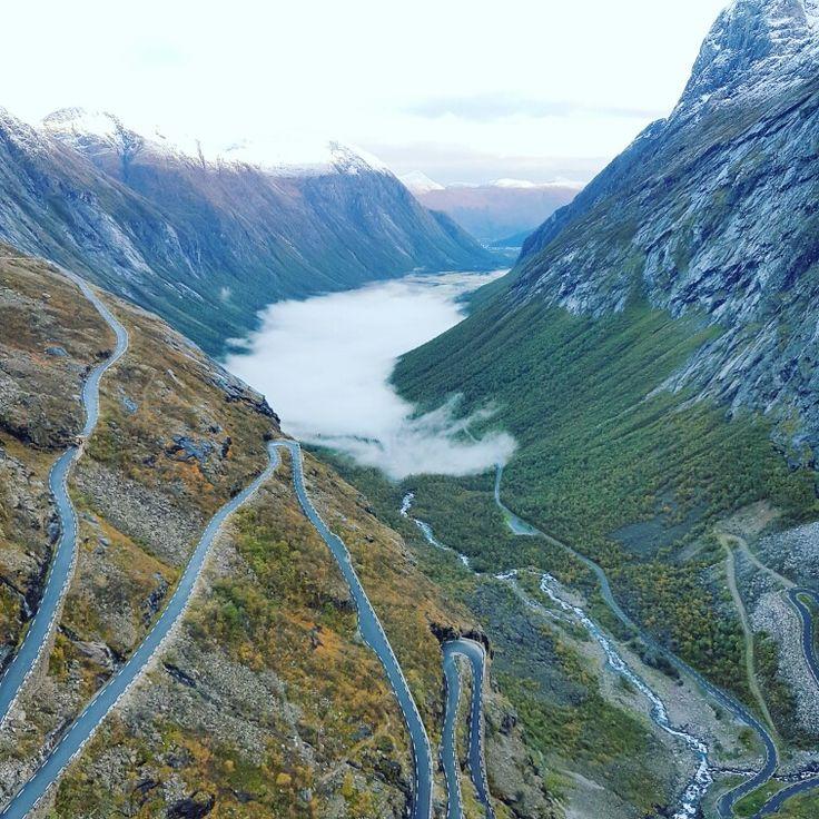 #Trollstigen #Norway