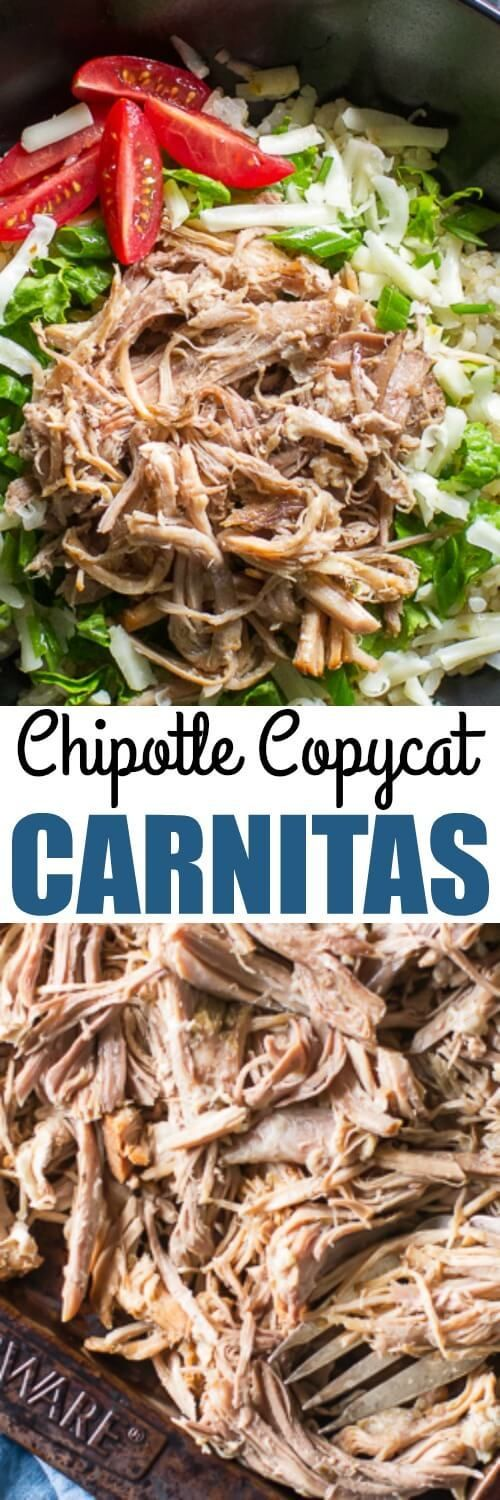There's just one special ingredient that makes Chipotle Carnitas stand out above all others. Then you can just make them in your slow cooker! So easy.