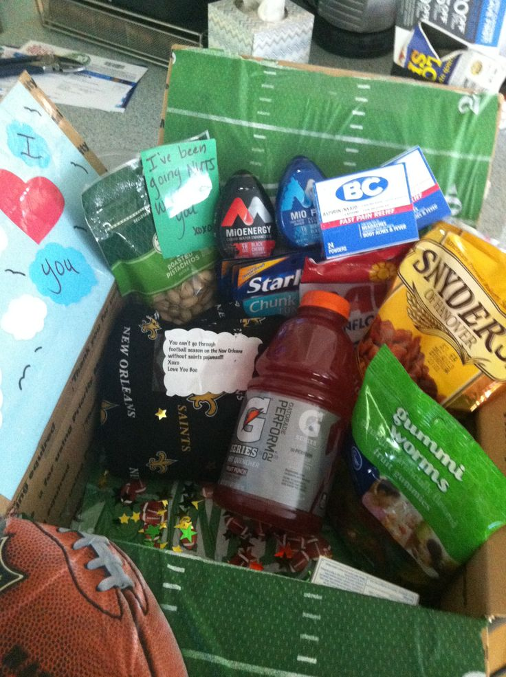 25 Best Ideas About Football Care Package On Pinterest