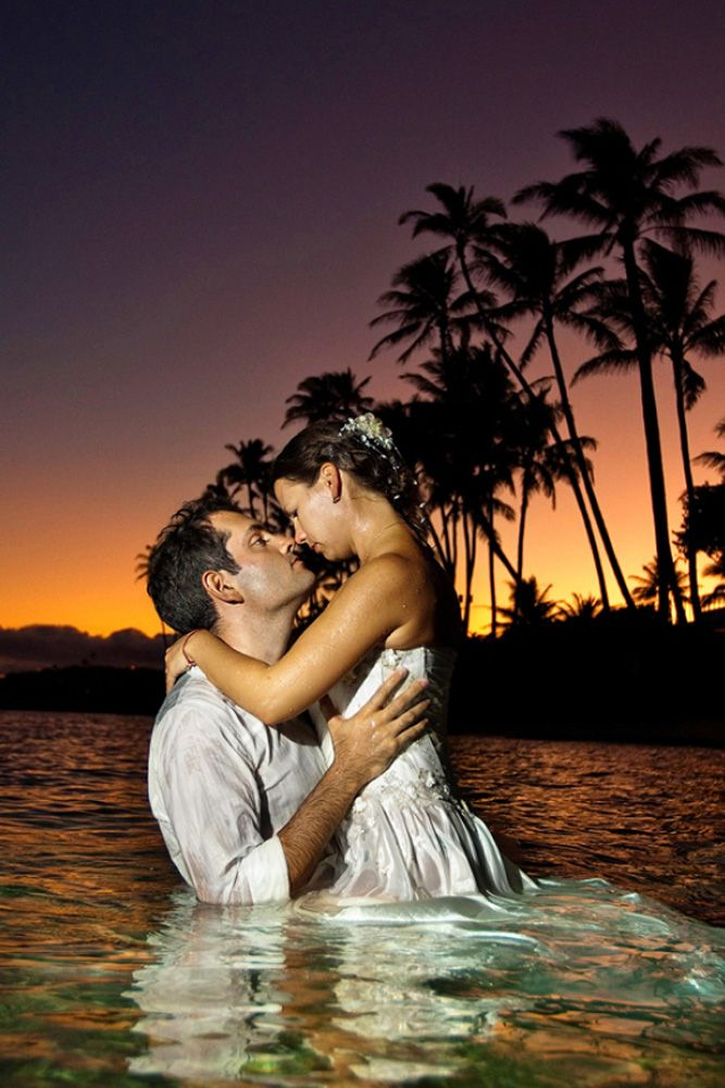 18 Sexy Wedding Pictures For Unforgeatable Memories ❤ See more: http://www.weddingforward.com/sexy-wedding-pictures/ #weddings #photography