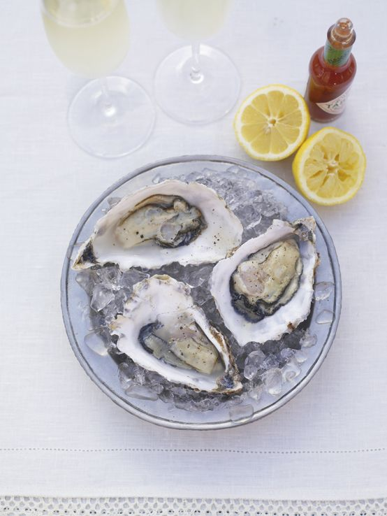 Jamie's Icebreaker Oysters. Oysters are the perfect ice-breaker for a romantic evening, so pull out all the stops and serve up these bad boys for some guaranteed brownie points. Throw a glass of champagne into the mix and you'll really set the wheels in motion.  http://www2.woolworthsonline.com.au/Shop/RecipeCategory/234#url=/Shop/Recipe/2037%3Fname%3Dicebreaker-oysters  #Woolworths #JamieOliver #recipe #valentinesday