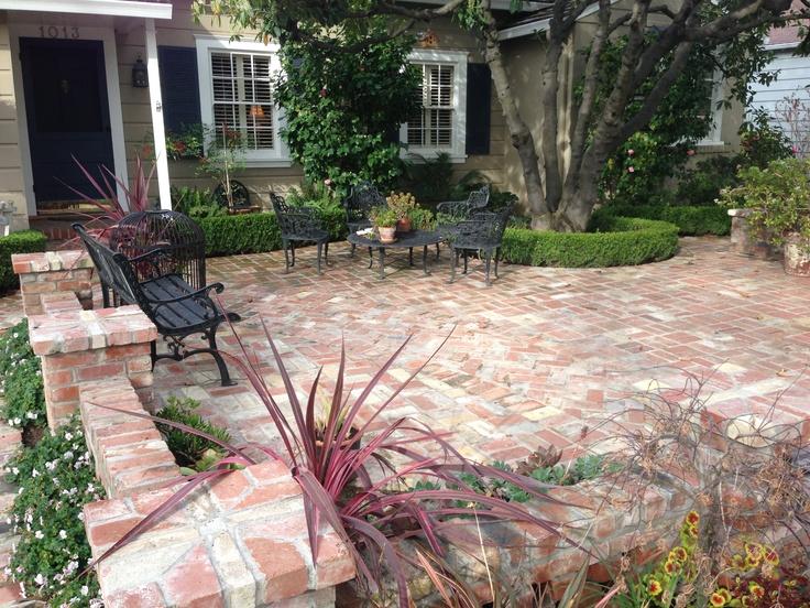 213 best mcbain landscape images on pinterest   gardens, garden ... - Front Yard Patio Ideas