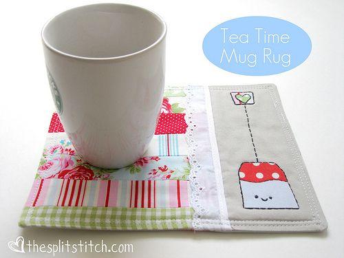 Easy tutorial on how to make this adorable mug rug