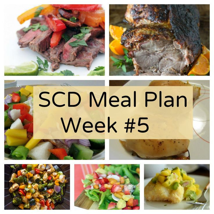 SCD Meal Plan Week #5 MP