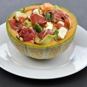 Les 25 meilleures id es de la cat gorie melon jambon sur pinterest amuse bouche amouse bouche - Melon jambon cru presentation ...