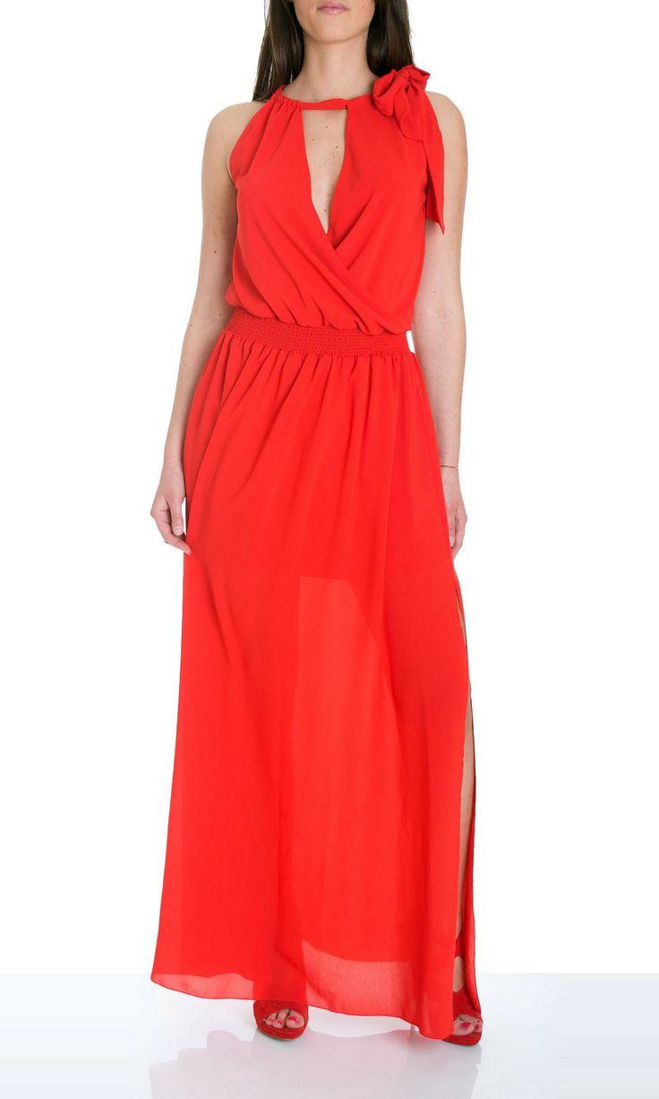 Tru Trussardi | Dress Tru Trussardi Women Crepè Col. Red - Shop Online on Dursoboutique.com 561855